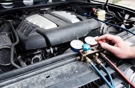 Ar condicionado Automotivo  medidor de pressão