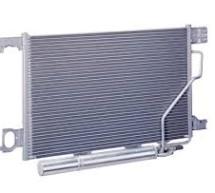 Condensador do sistema de ar condicionado