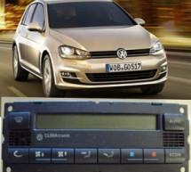 Ar condicionado automotivo com sinal de defeito no comando do veiculo